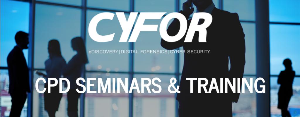 eDiscovery training seminars