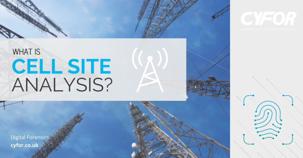 What is Cell Site Analysis