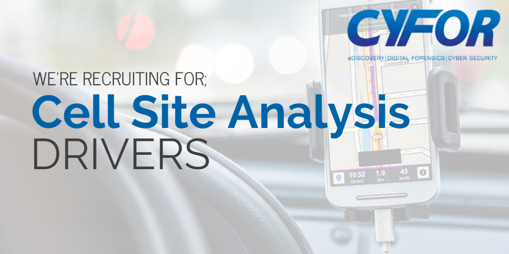 cell site analysis drivers