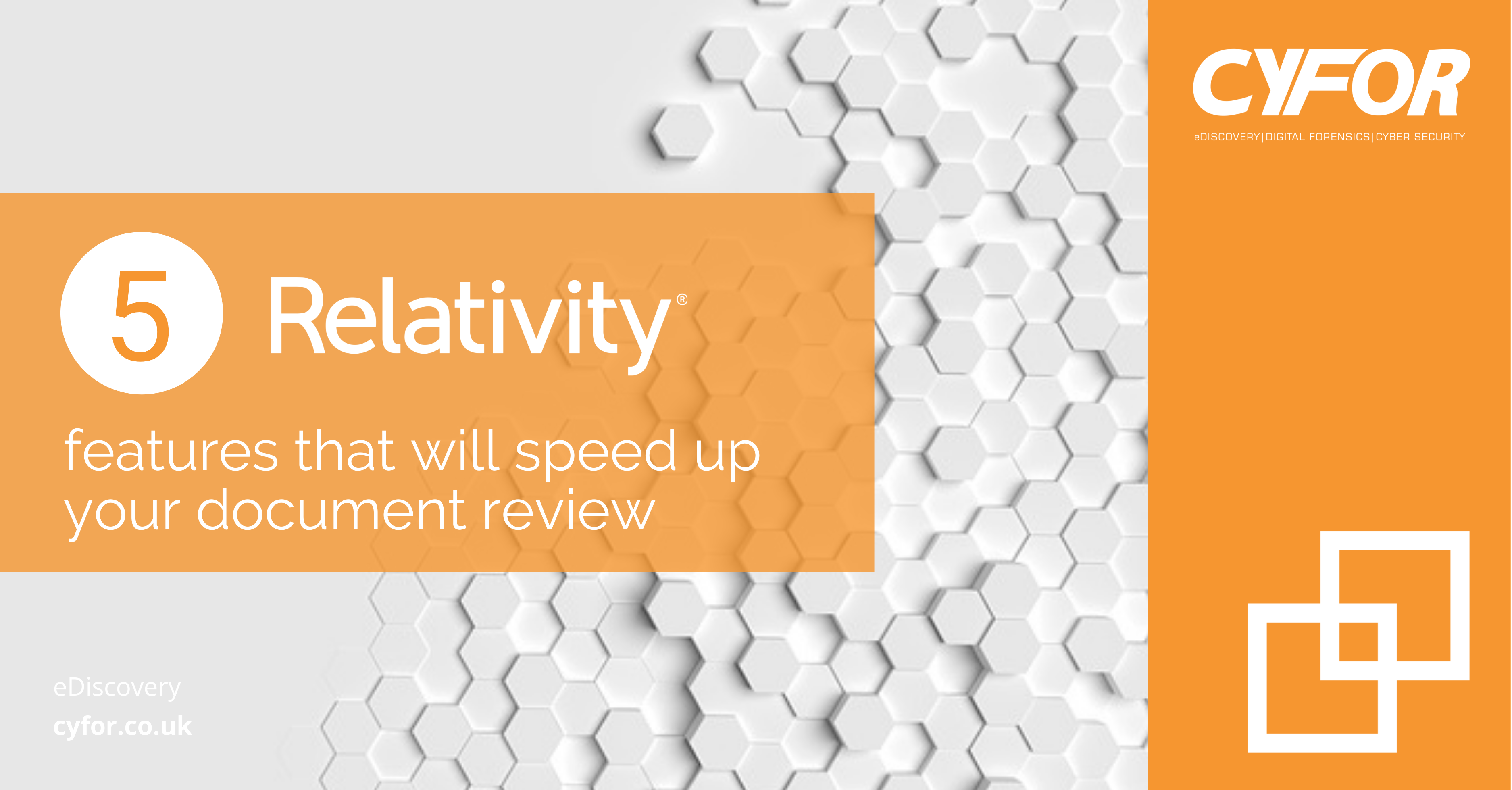 speed up your document review