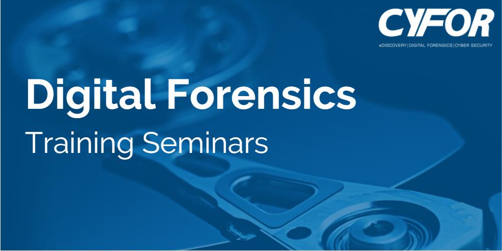 Digital Forensics Training Seminars