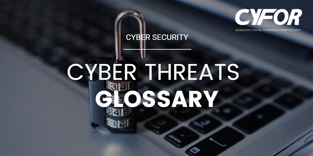 cyber threats glossary