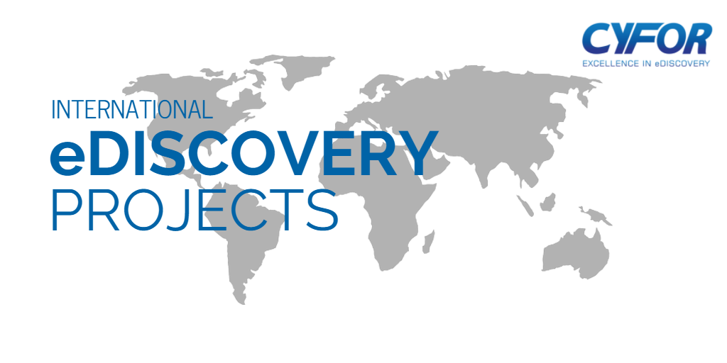 International eDiscovery Projects