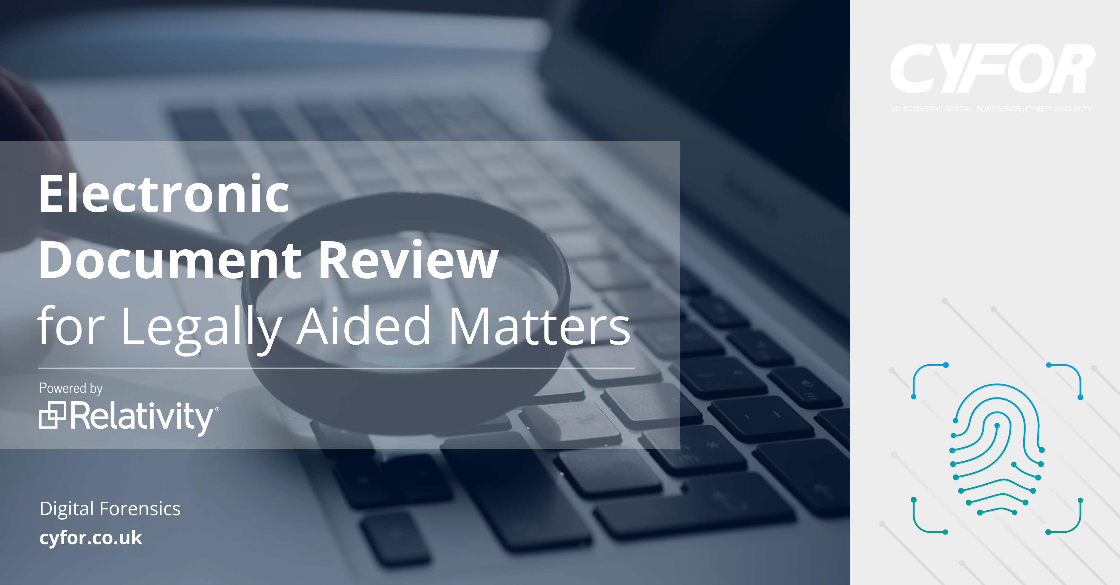 Electronic Document Review for Legally Aided Matters