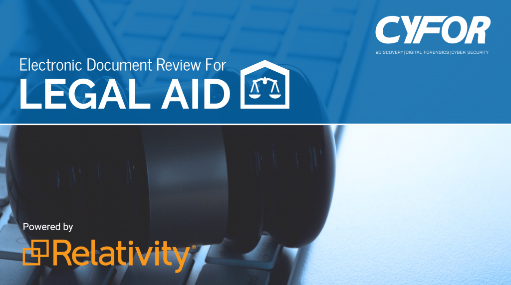electronic document review for legal aid