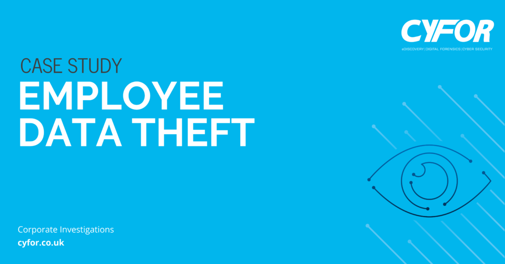 Employee Data Theft Case Study