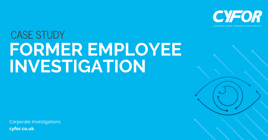 Employee Investigation | Corporate Investigations Case Study