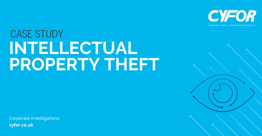 Intellectual Property Theft Case Study