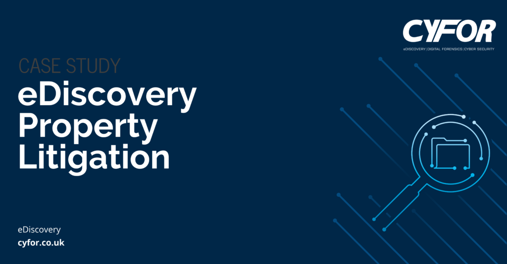 eDiscovery Property Litigation