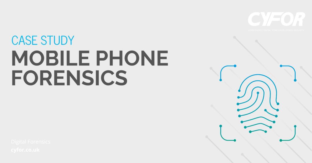 mobile phone forensics case study