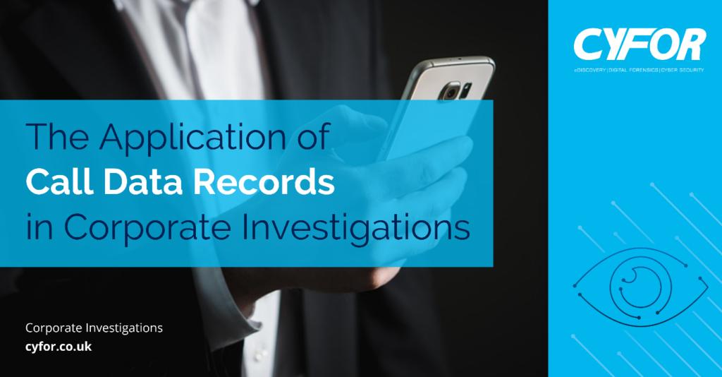 Call Data Records
