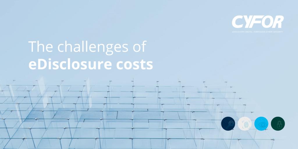 eDisclosure costs