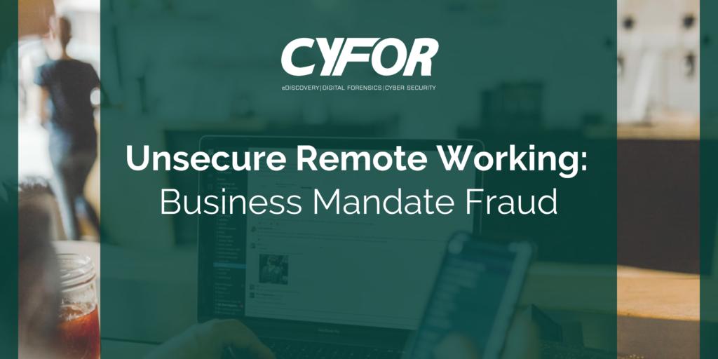 Business Mandate Fraud