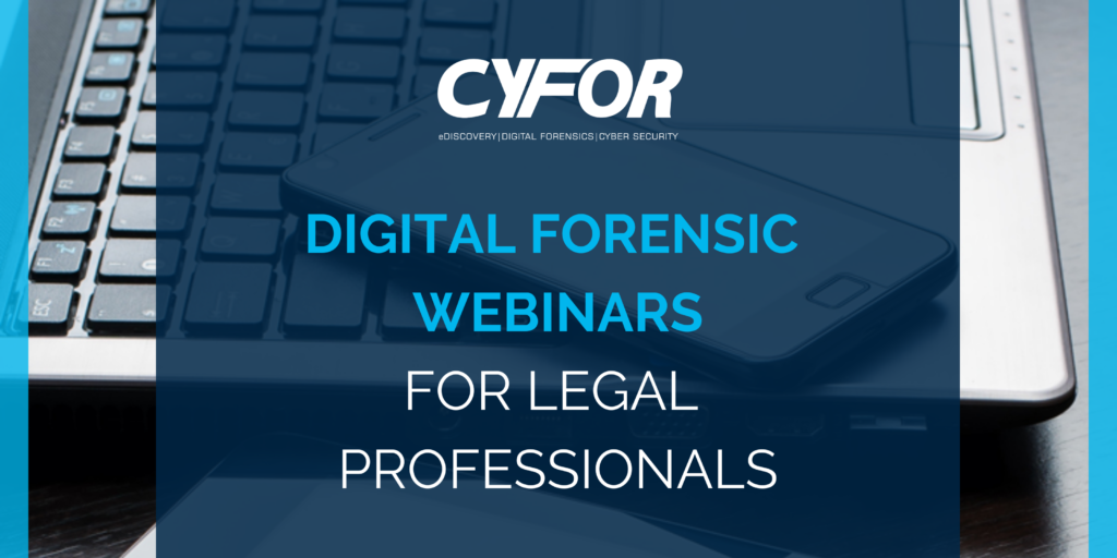 Digital Forensic Webinars