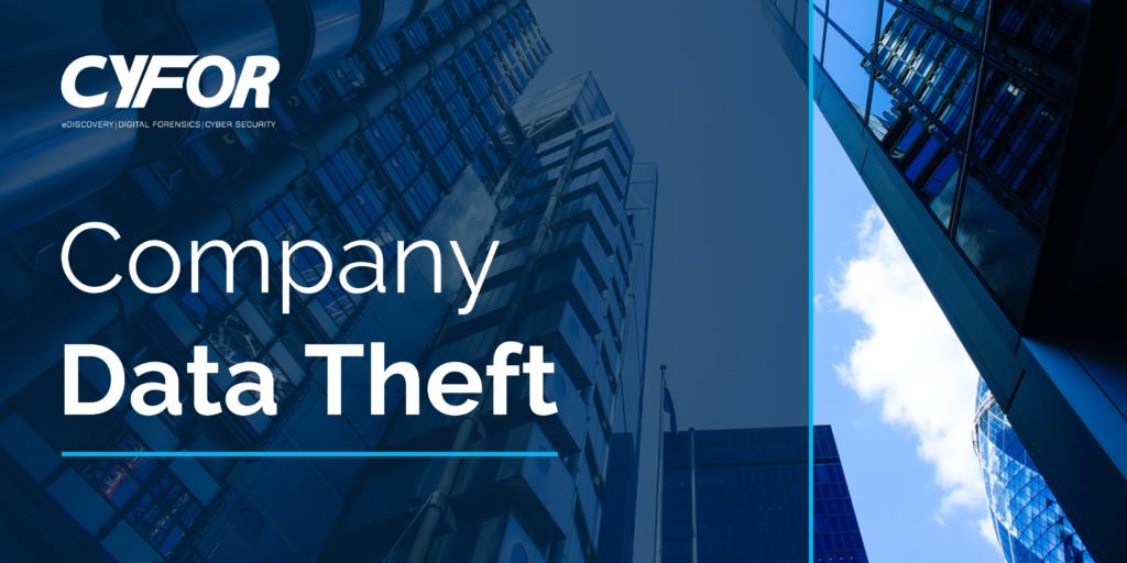 Company data theft