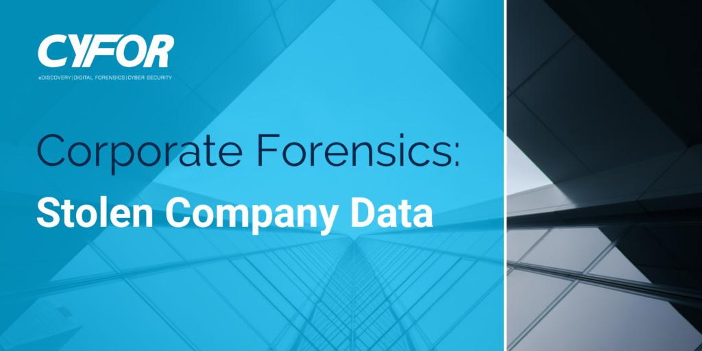 Stolen Company Data