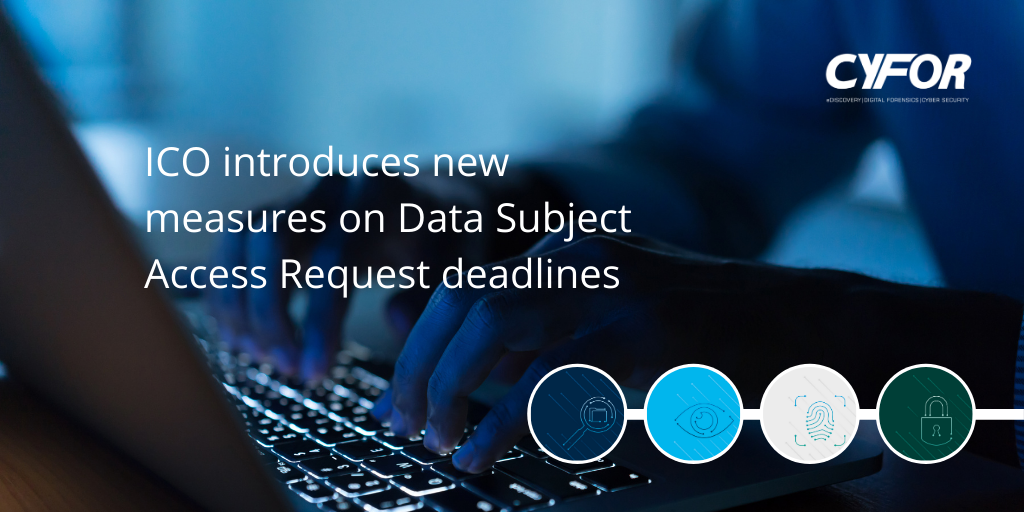 Data Subject Access Request deadlines